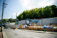 堺市宅地造成工事 完成間際です